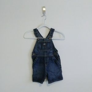 OshKosh B'Gosh Denim Short Overalls - 3T